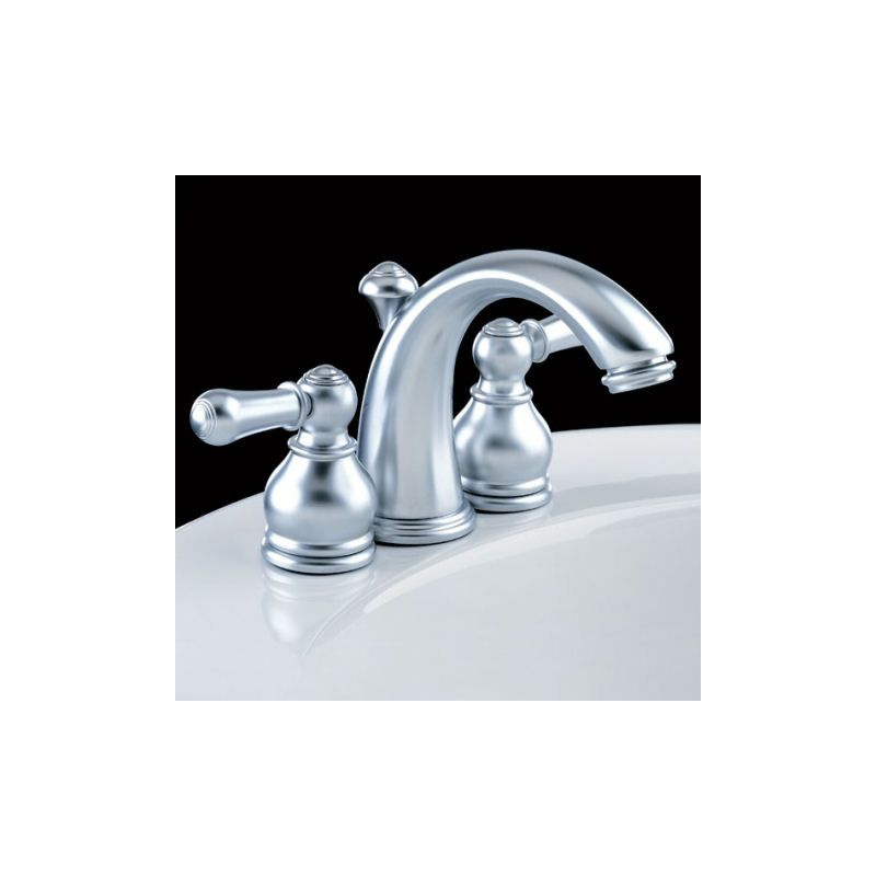 American Standard Hampton Mini Widespread Bathroom Faucet With Speed Connect Technology