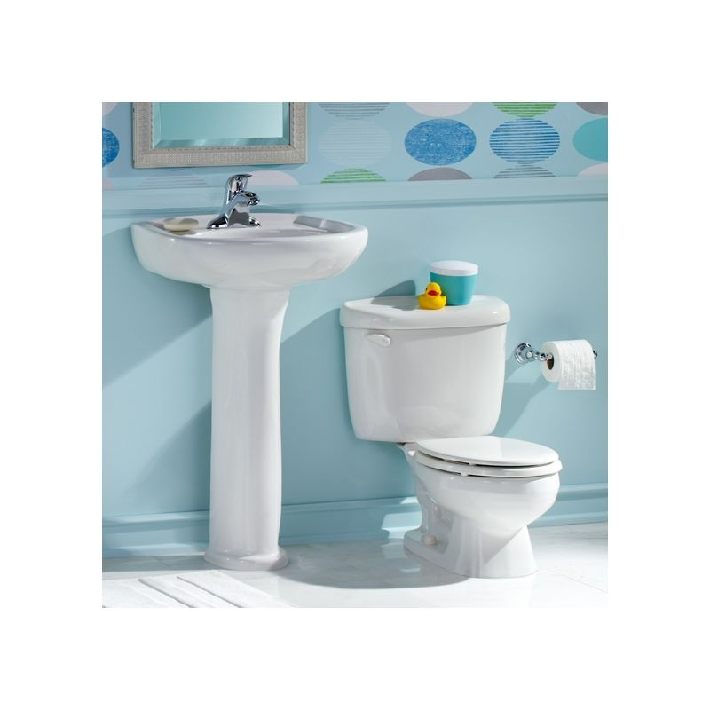 ... Pedestal Bathroom Sink with Pedestal, 4