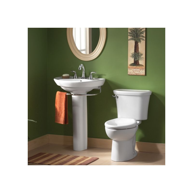 white ravenna pedestal bathroom sink with pedestal