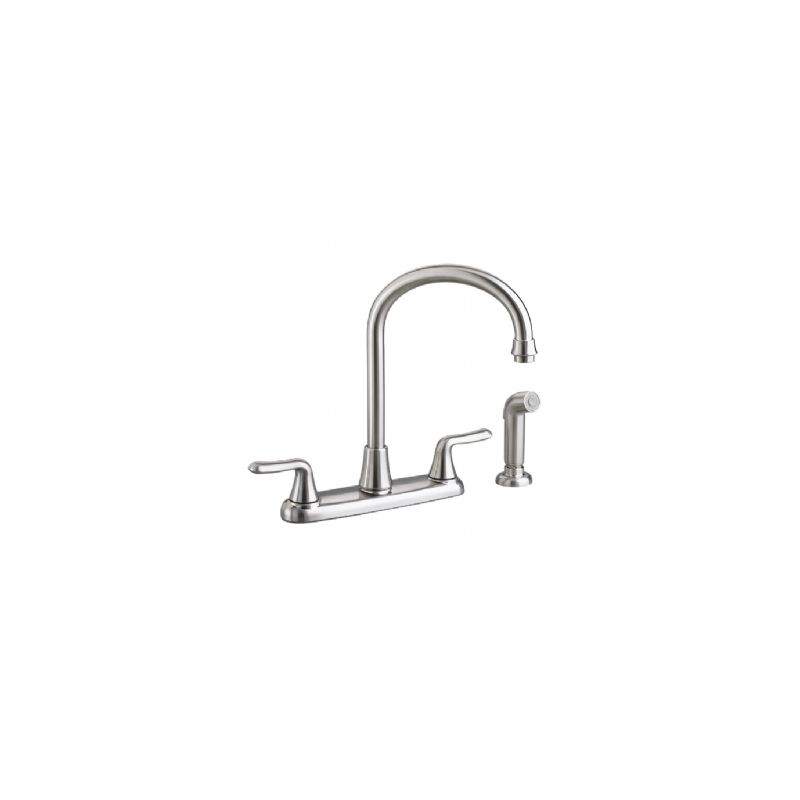 American Standard Faucets on American Standard 4275 551f15 075 Stainless Steel Colony Double Handle