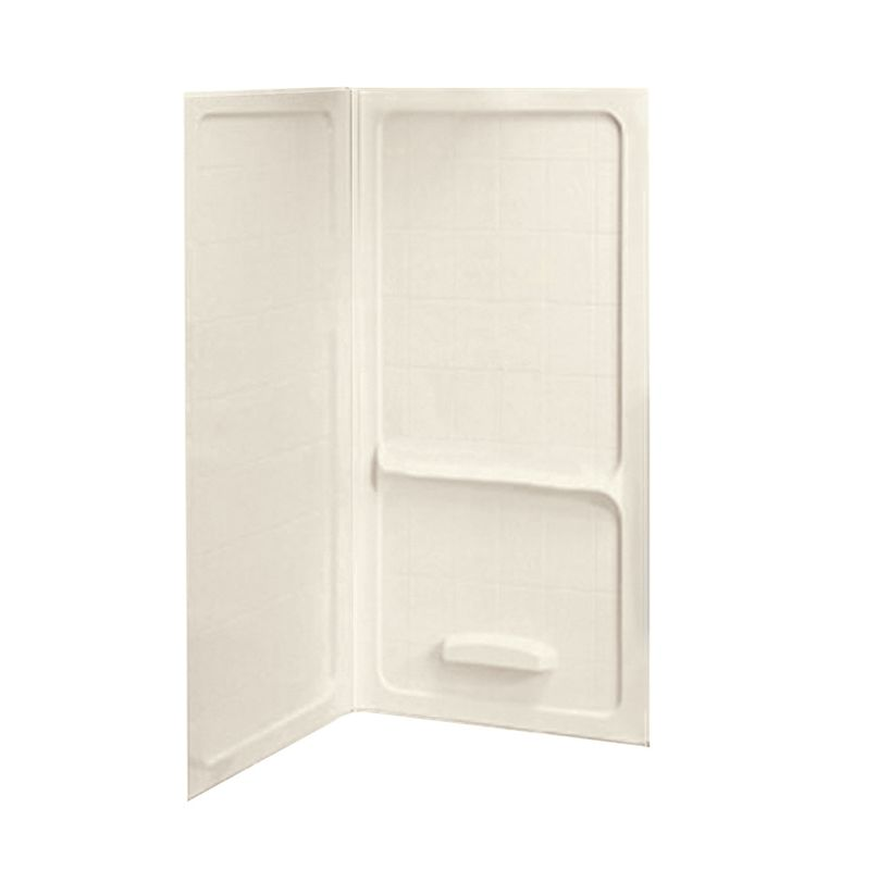 American Standard 3838.Y1CWT.222 Linen Corner Shower Wall Set 38 ...