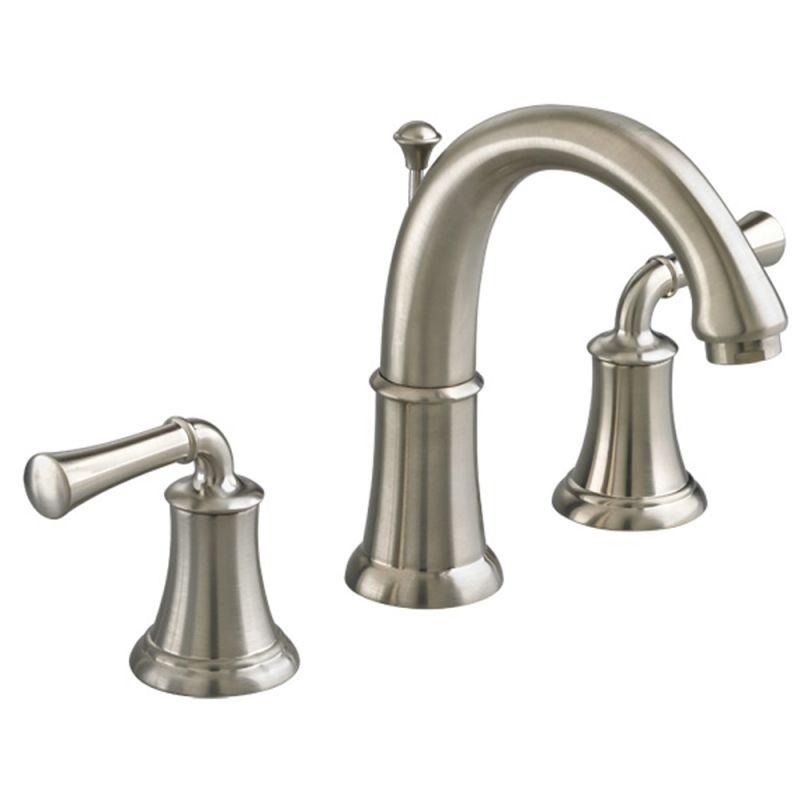 American Standard Faucets : American Standard 7420.801.295 Satin Nickel Portsmouth Widespread ...