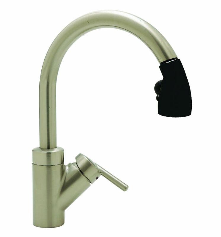 Faucet Com 440617 In Satin Nickel Black By Blanco