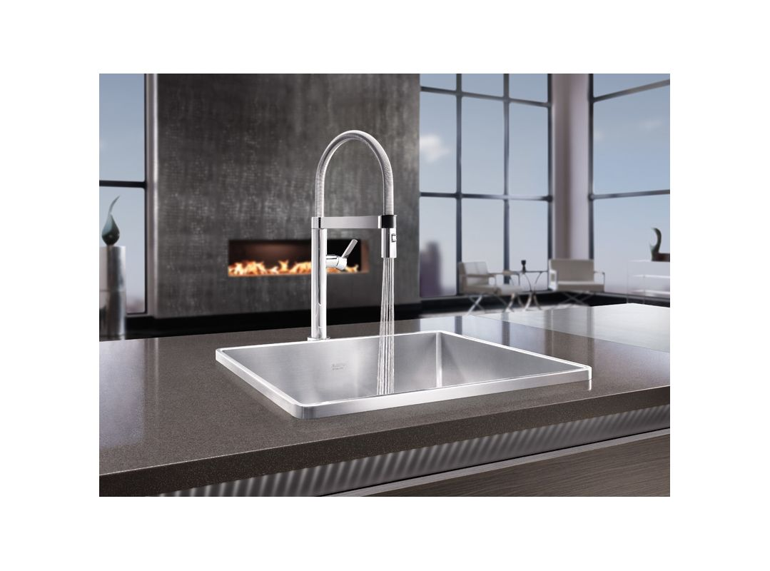 Blanco Culina Faucet White Gold