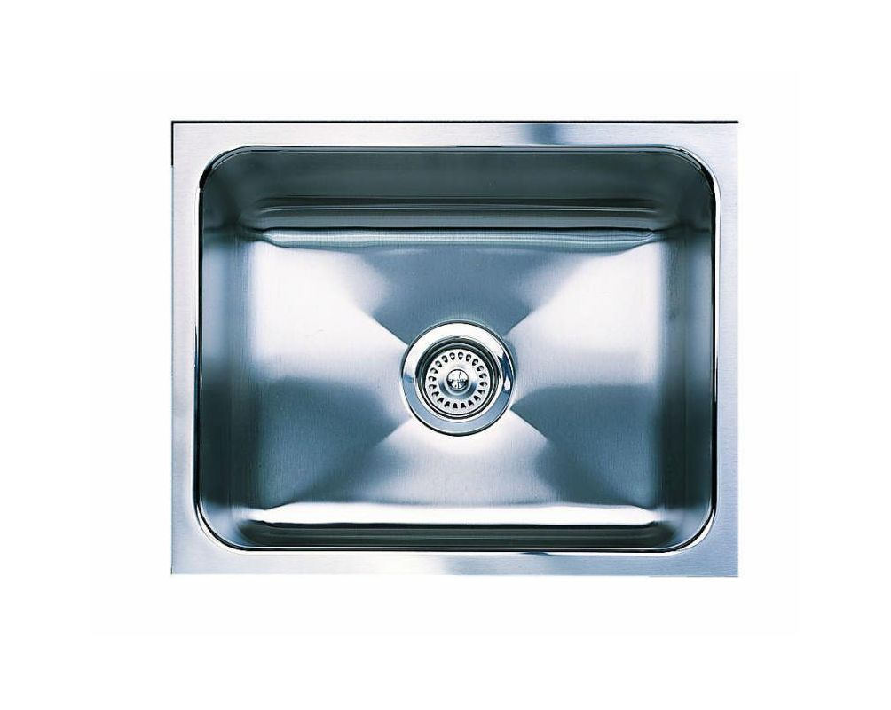 Blanco Sinks And Faucets : Blanco 440290 Satin Magnum Single Basin Stainless Steel Kitchen Sink ...