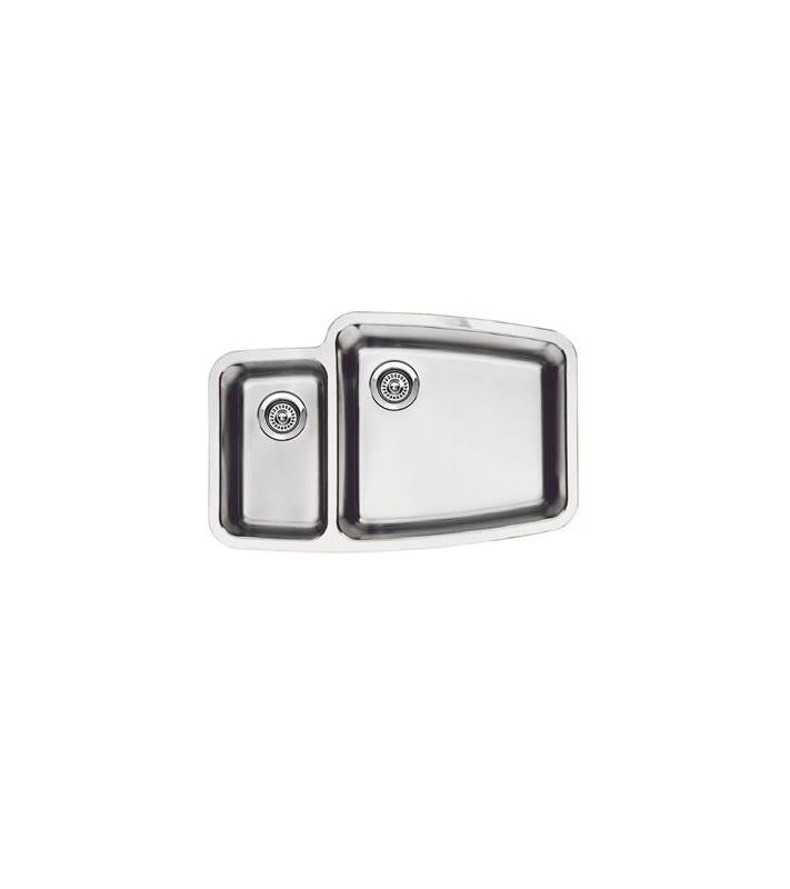 Blanco Kitchen Faucet Replacement Parts : Blanco 440114 Satin Polished Performa 1-1/2 Reverse Basin Stainless ...
