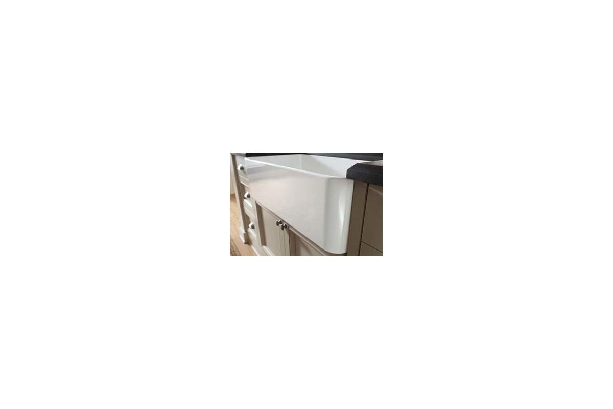 Blanco Farmhouse Sink : Blanco 441694 White Cerana 30-inch Farmhouse Kitchen Sink Apron-Front ...