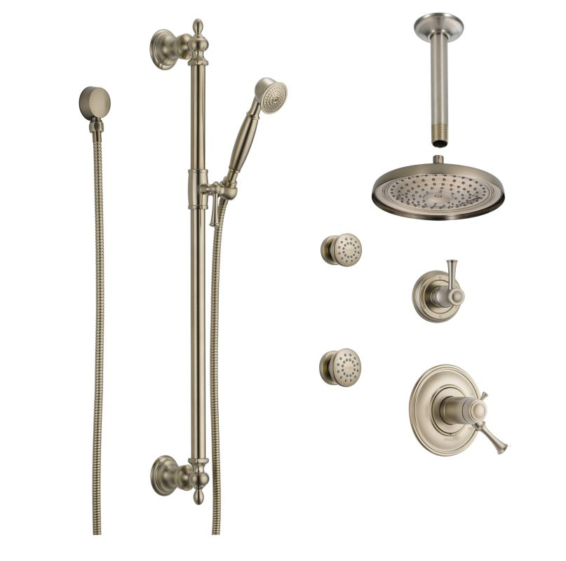 BB1345 BN In Brilliance Brushed Nickel By Brizo