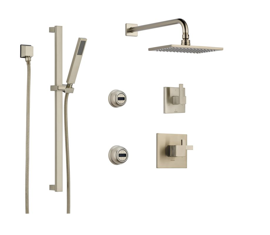 BS945 BN In Brilliance Brushed Nickel By Brizo