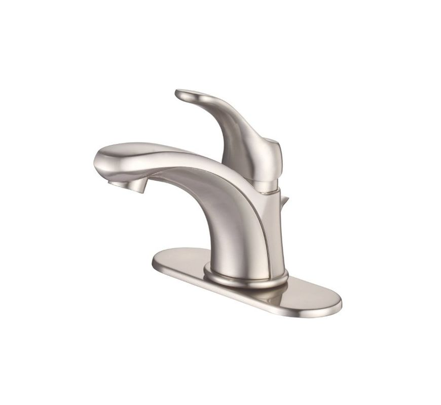 danze d225525bn brushed nickel single handle centerset bathroom faucet