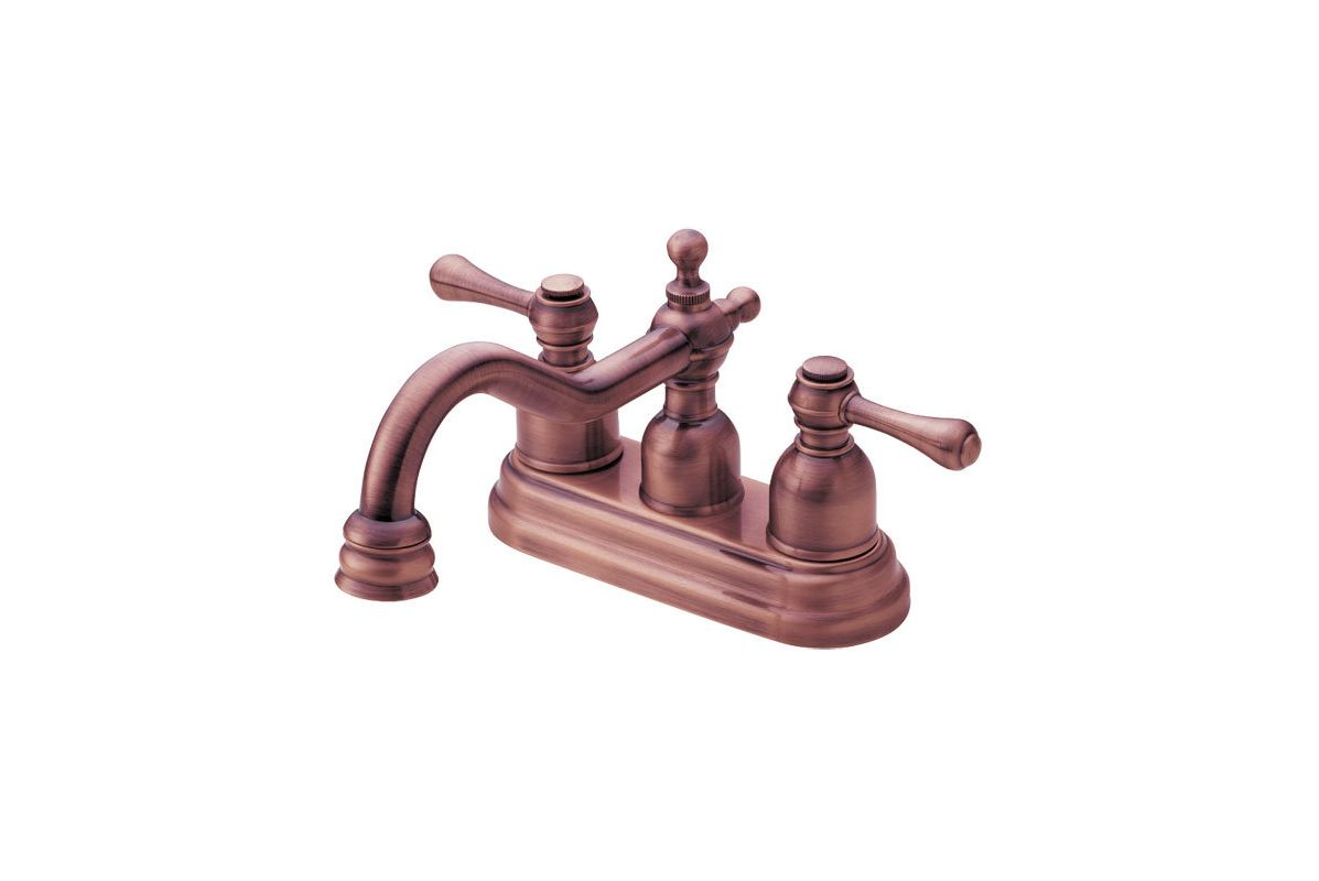 danze d301057ac ac0ed011157 antique copper centerset bathroom faucet