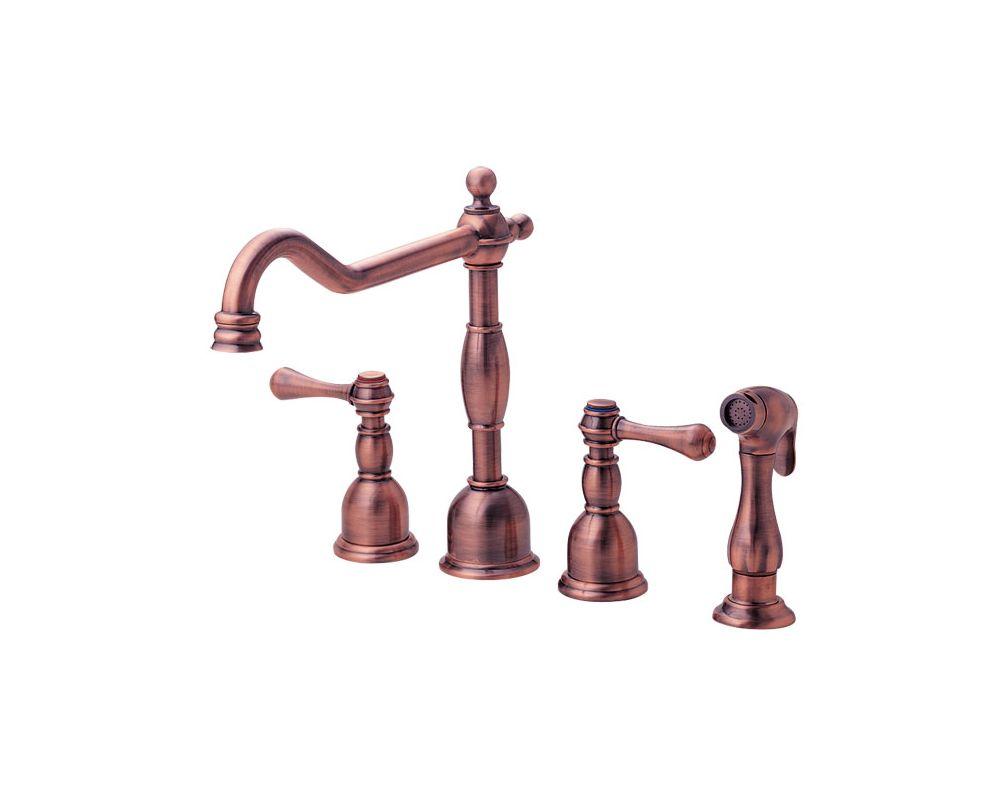 faucet com d414357ac in antique copper by danze