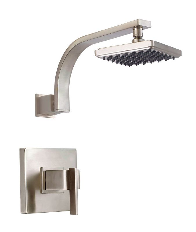 danze d500544bn brushed nickel single handle pressure balanced shower