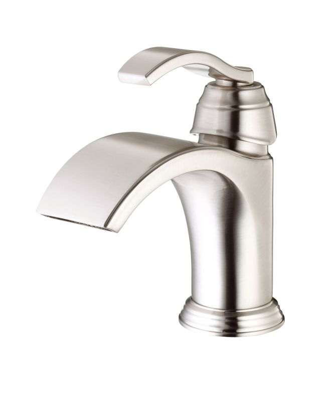 danze d225361bn brushed nickel single hole bathroom faucet from the