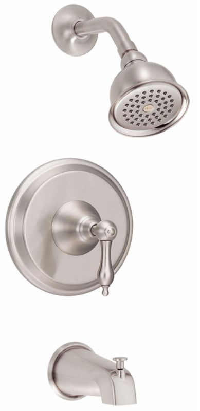 danze d510040bn brushed nickel pressure balanced tub and shower trim
