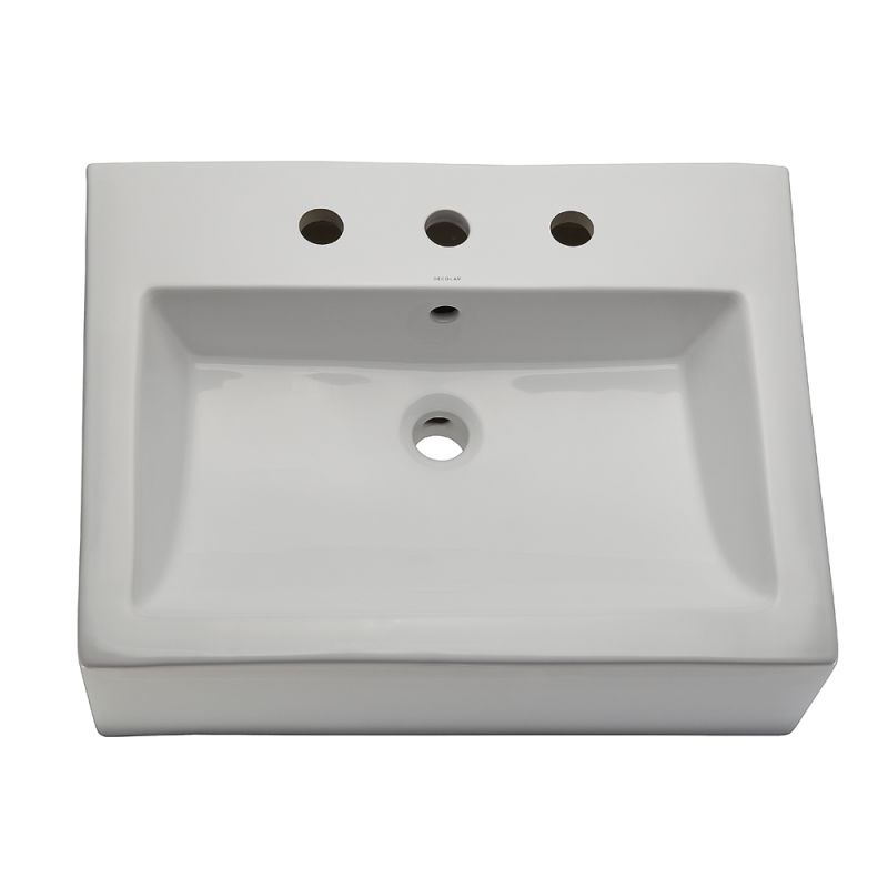 3 Hole Vessel Sink : ... Hole Classically Redefined 22-3/8