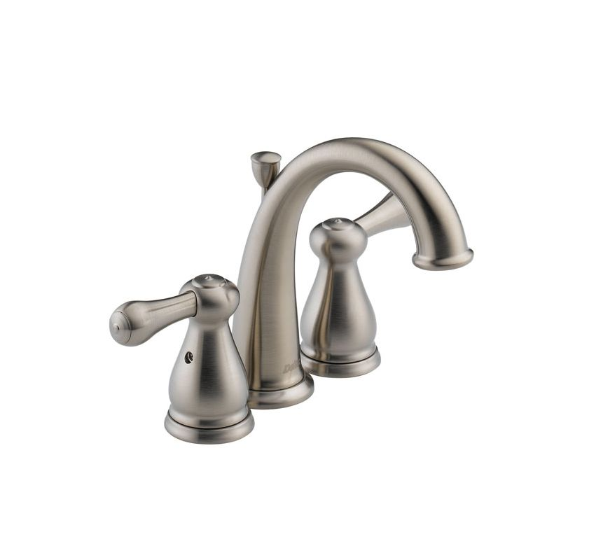 delta 4575 ssmpu brilliance stainless leland bathroom faucet mini