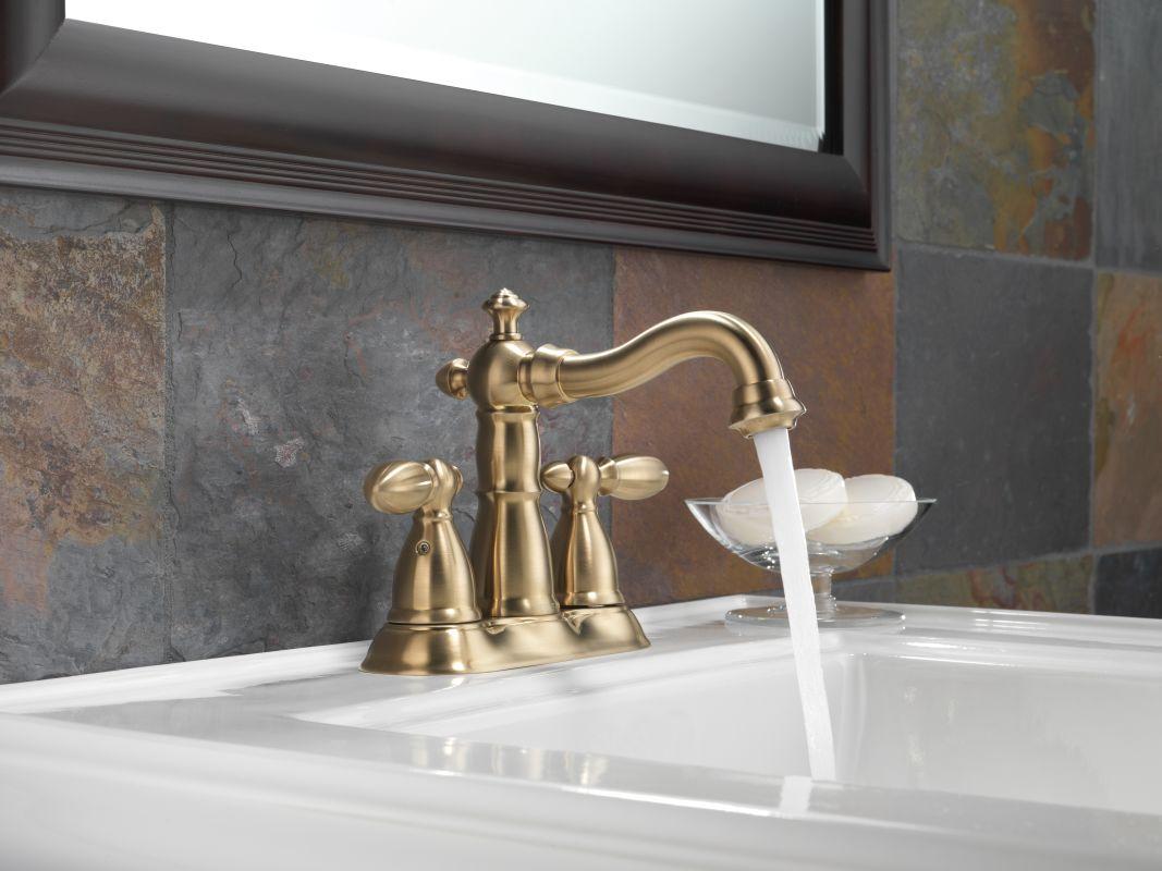 Delta Victorian 555lf Single Handle Centerset Bathroom: 2555-MPU-DST In Chrome By Delta