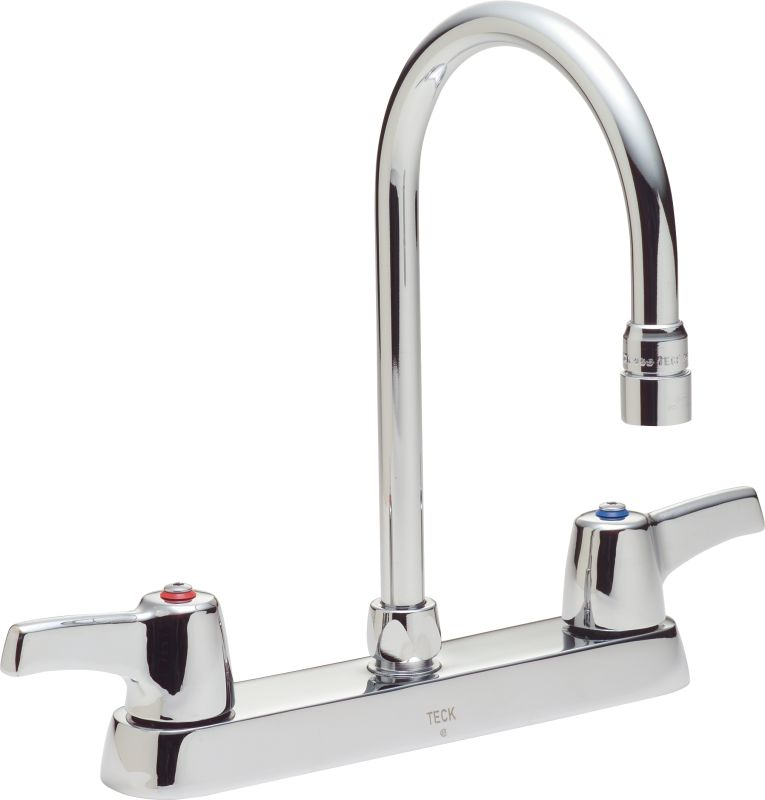 delta 26t3943 chrome double handle 1 5gpm kitchen faucet with lever