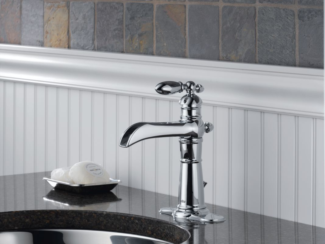 Kohler Waterfall Faucet : -CZ Champagne Bronze Victorian Single Hole Waterfall Bathroom Faucet ...
