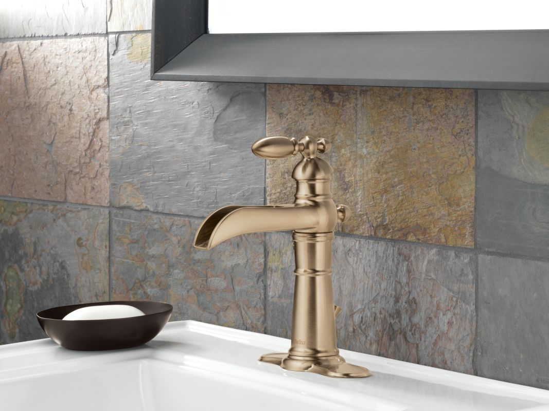 bathroom faucet with pop up drain assembly includes lifetime