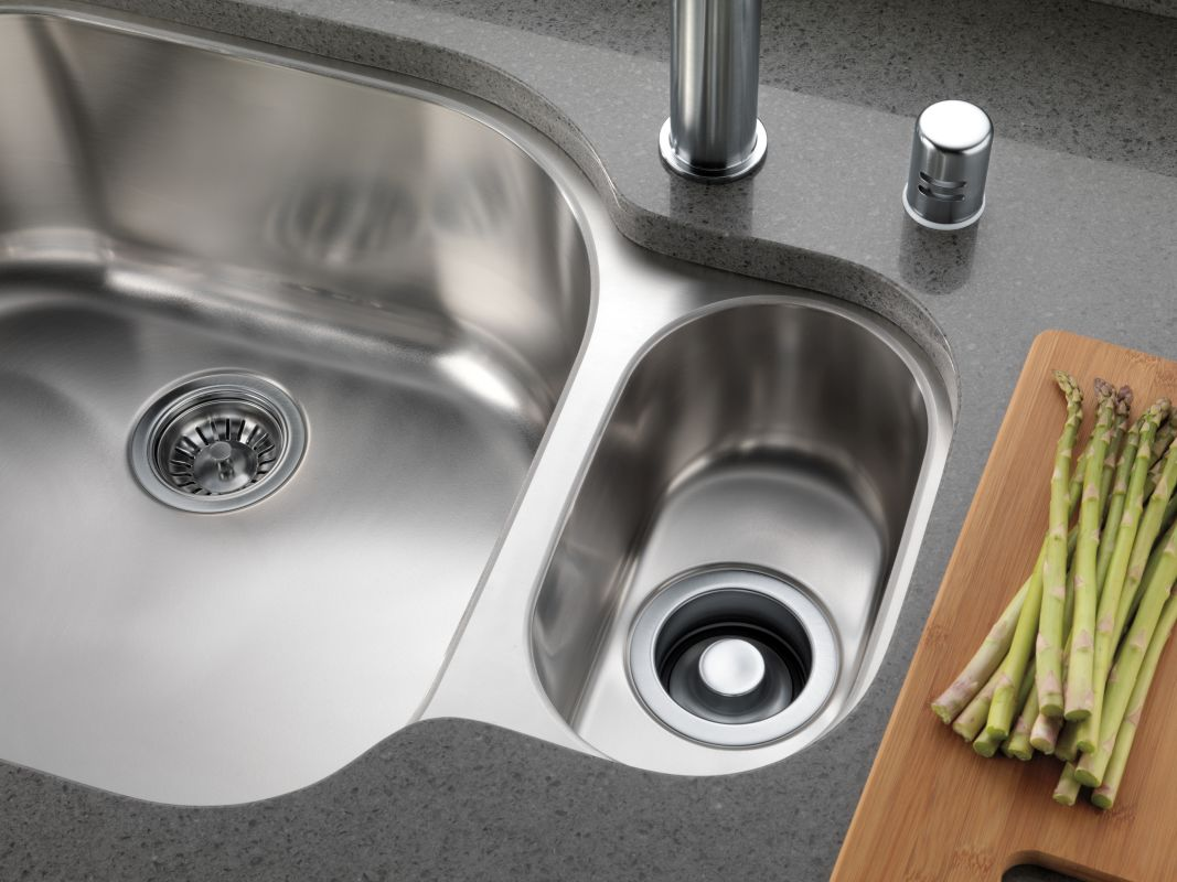 kitchen sink air gap dispenser holds small amount of soap but looks. beautiful ideas. Home Design Ideas