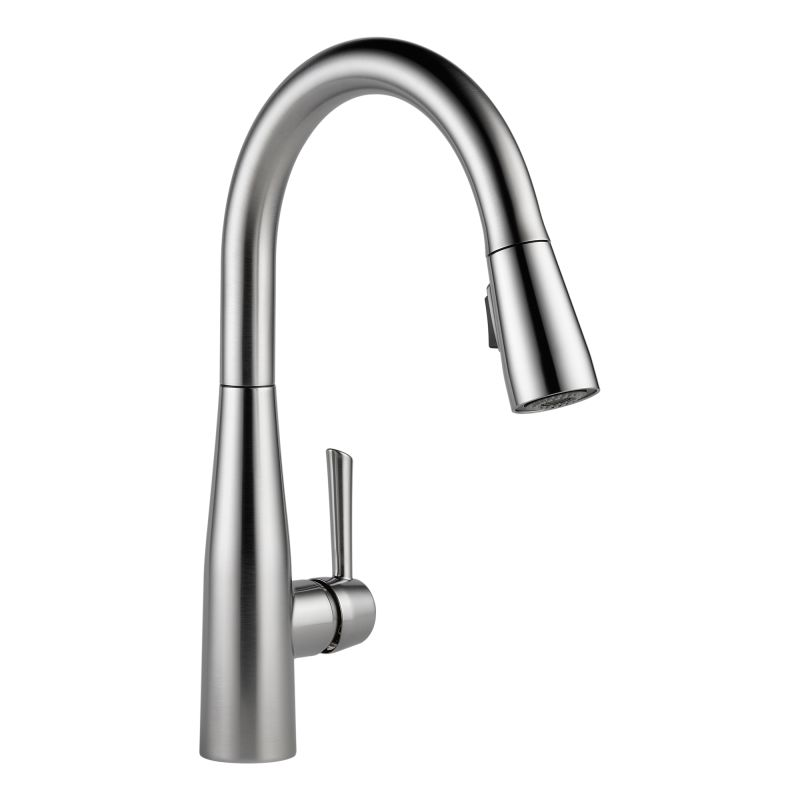Kohler Kitchen Faucet Warranty : Faucet ar dst in arctic stainless by delta