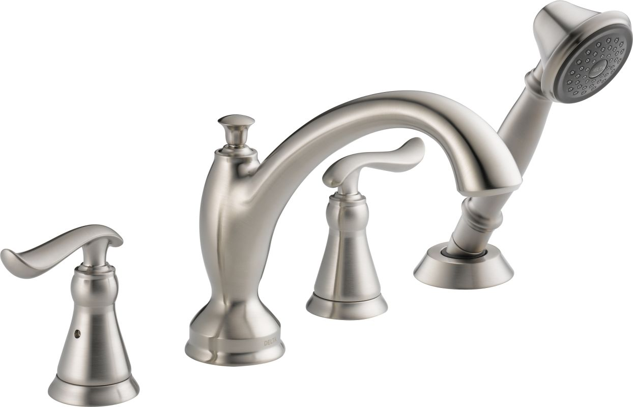 T4794 ss in brilliance stainless by delta for Delta bathroom faucets