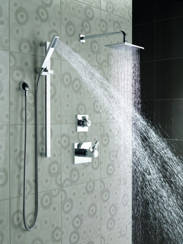 vero tempassure shower package ss in brilliance stainless