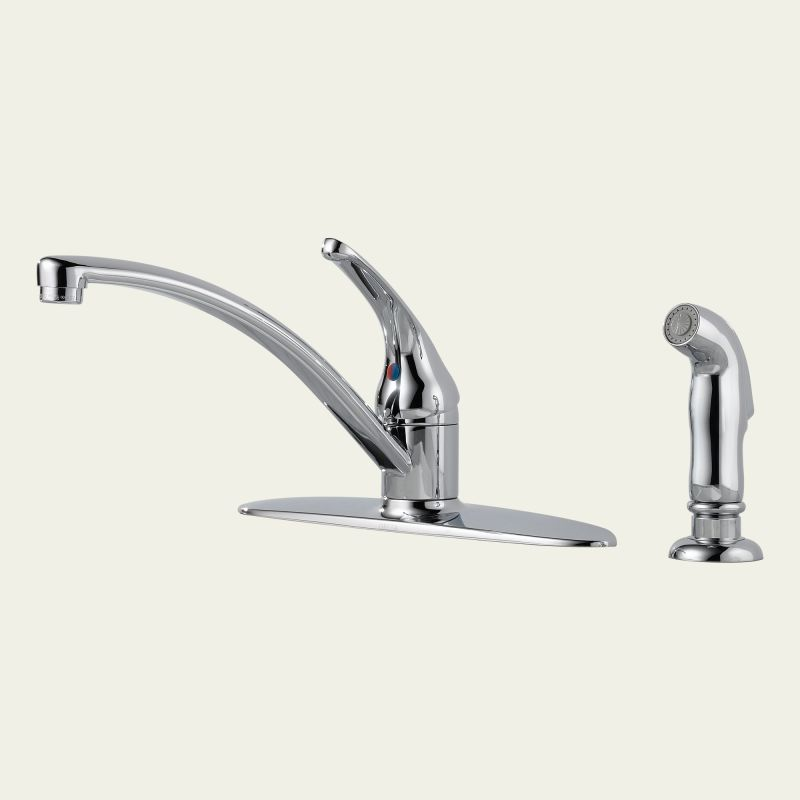 faucet 10901lf in chrome by delta