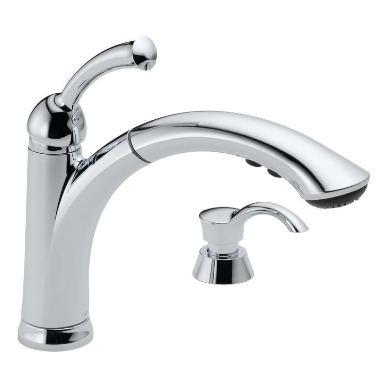 Discontinued Delta Kitchen Faucets: 16926-SSSD-DST In Brilliance Stainless By Delta