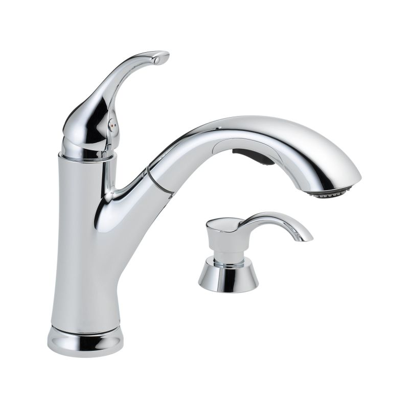 Discontinued Delta Kitchen Faucets: 16932-SD-DST In Chrome By Delta