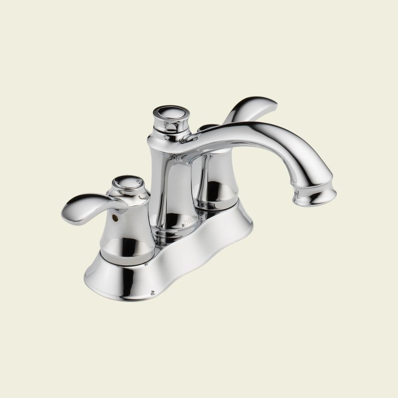 delta 25710lf chrome nura centerset bathroom faucet includes pop up