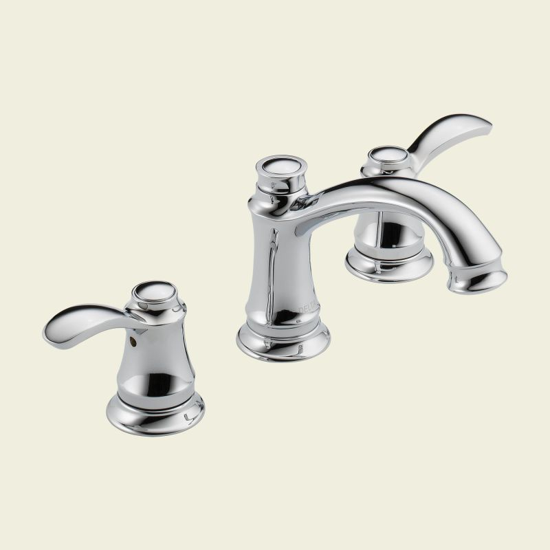 delta 35710lf chrome nura double handle widespread lavatory faucet