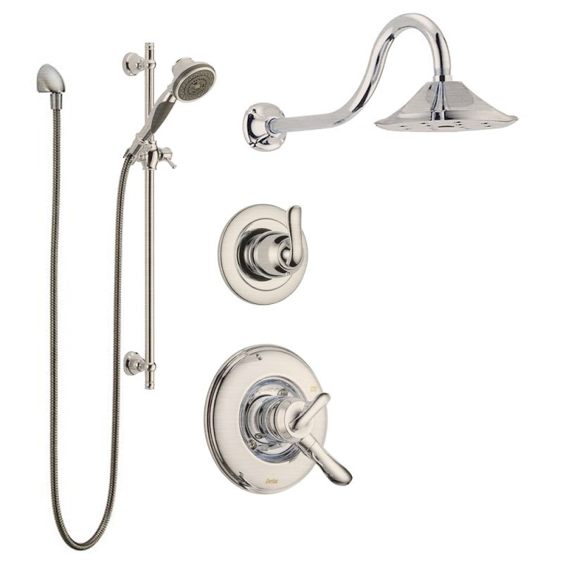 linden monitor shower package ss in brilliance stainless