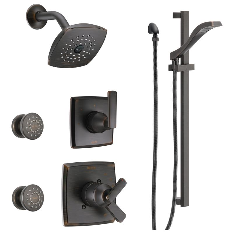 Faucet.com | DSS-Ashlyn-1703-RB in Venetian Bronze by Delta
