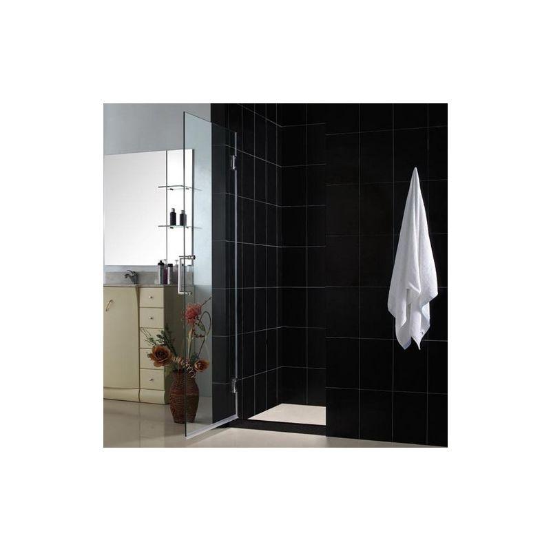 dreamline unidoor framless hinged shower door