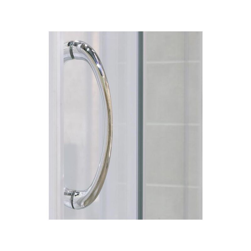 glass visions sliding shower door 60 x 72 w frosted glass