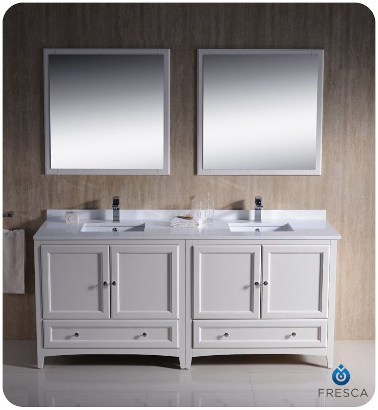 FVN20-3636AW In Antique White By Fresca