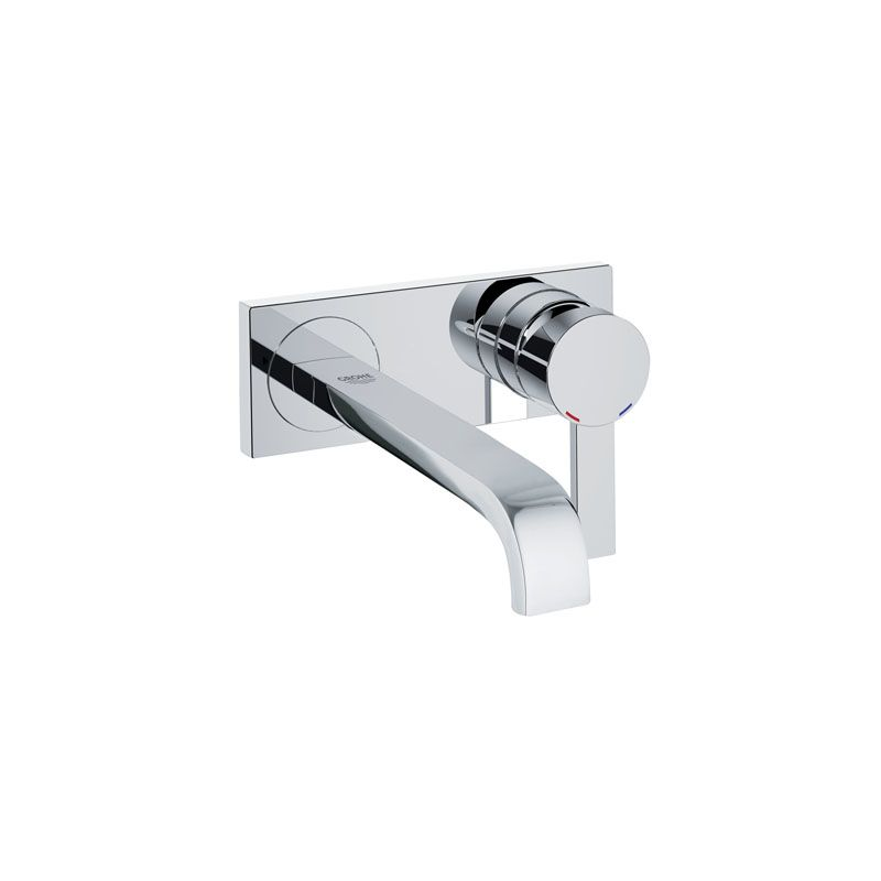 Grohe Allure Bathroom Faucet: 19387000 In Starlight Chrome By Grohe