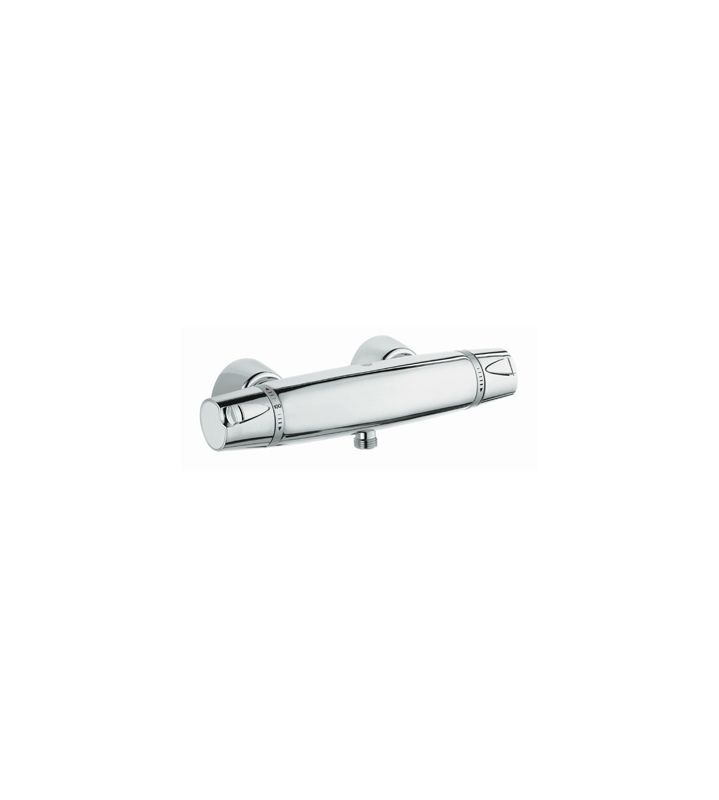 grohe 34182000 starlight chrome exposed thermostatic shower valve from