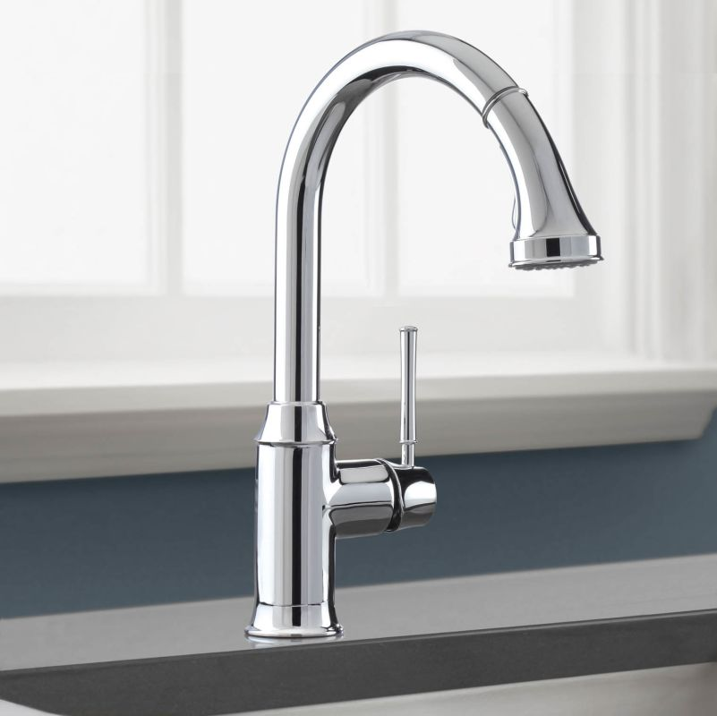 kraus-kpf2630ss-single-lever-faucet-with-9-14-inch-spout-reach Kitchen Faucet Spout
