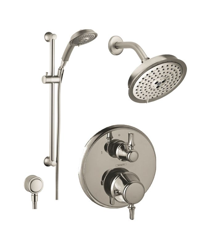In Brushed Nickel By Hansgrohe