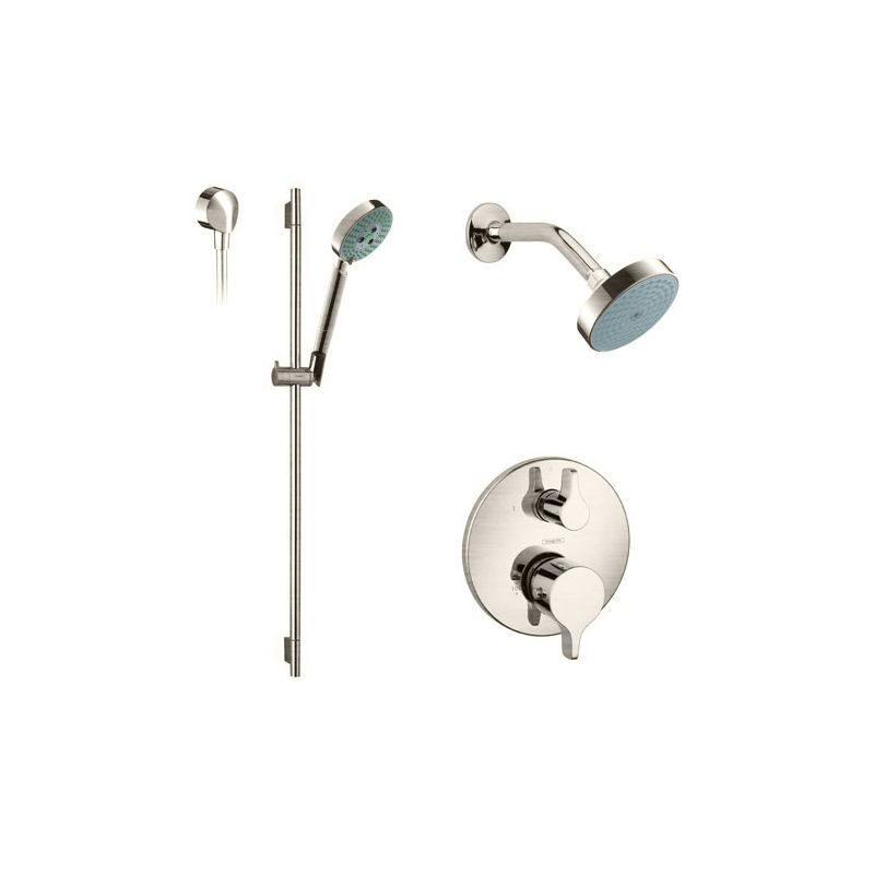 Faucet.com | HG-T211820 in Brushed Nickel by Hansgrohe