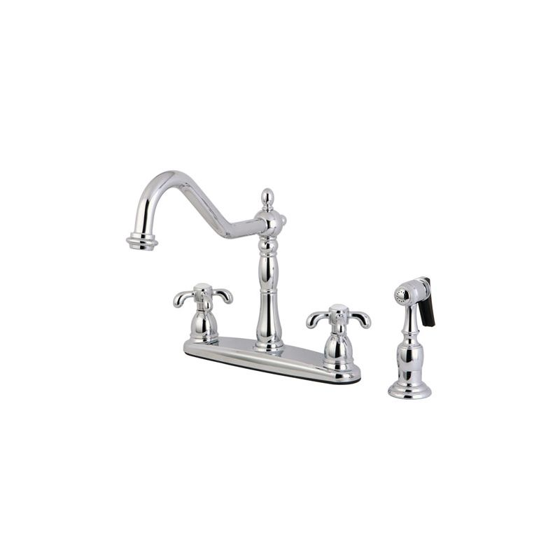 faucet com kb1751txbs in polished chrome by kingston brass