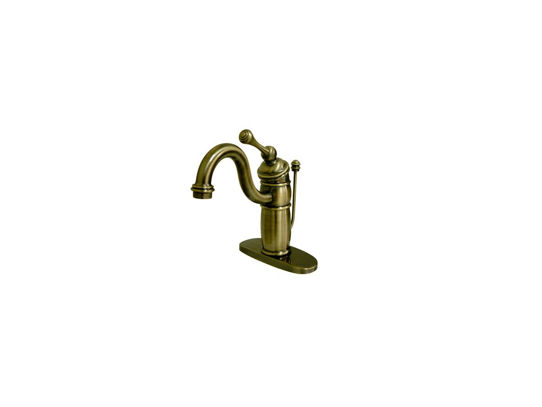 Kb1403bl In Antique Brass By Kingston Brass
