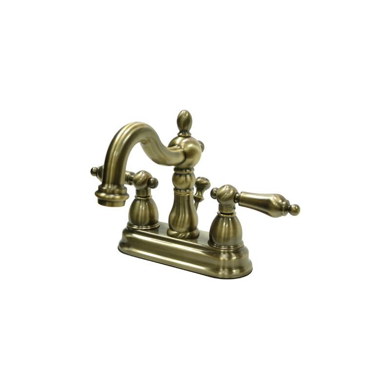 Kb1603al in antique brass by kingston brass Antique brass faucet bathroom