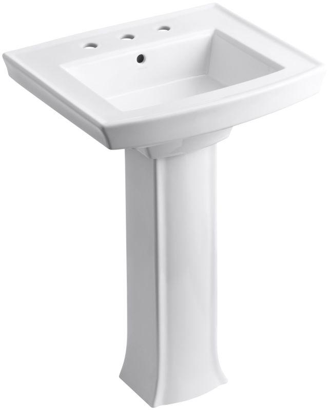 Faucet Com K 2359 8 0 In White By Kohler