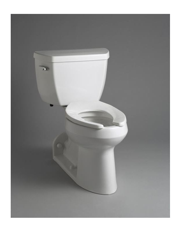 Cheap Kohler Toilets : Kohler K-3578-0 White Elongated Bowl, Rear Outlet Pressure Lite ...