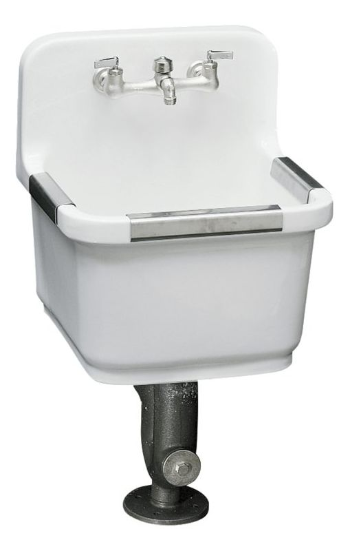 Porcelain Mop Sink : Call (800) 444-5783, Live Chat , Request a Quote for the best prices ...